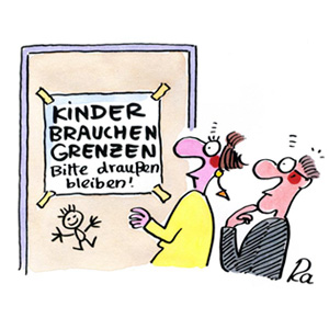 Cartoon von Renate Alf