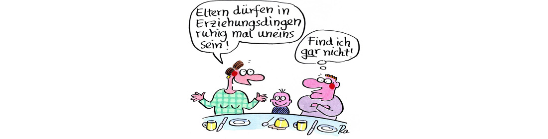 Illustration zu Beratung, Cartoon von Renate Alf