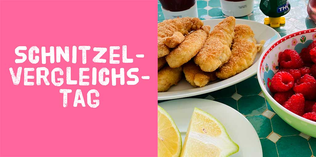 """Illustration zu """"Schnitzel-Vergleichs-Tag"""""""